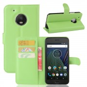 Klassisk flip cover grøn til Motorola Moto G5 plus, Mobil tilbehør