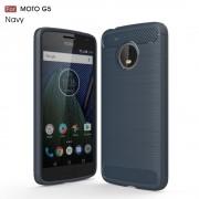 C-style Motorola Moto G5 cover armor mørkeblå