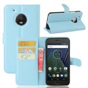 Motorola Moto G5 blå pung flip cover, Motorola Moto g5 covers