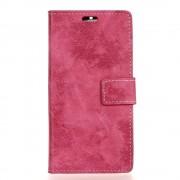 Motorola Moto G5 flip cover i retro stil rosa Mobilcover