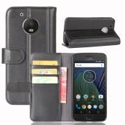 Motorola Moto G5 flip cover i split læder Mobilcovers