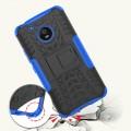 Moto G5 Mark II håndværker cover blå