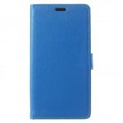 Motorola Moto C flip cover med lommer blå, Mobil tilbehør