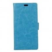 Motorola Moto E4 klassisk flip cover blå Mobiltilbehør
