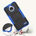 Moto E4 Mark II cover blå