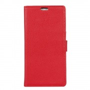 Moto Z2 Play flip cover med lommer rød Mobilcovers