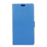 Moto Z2 Play flip cover med lommer blå Mobilcovers