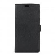 Flip cover med lommer sort Moto G5S plus Mobil tilbehør
