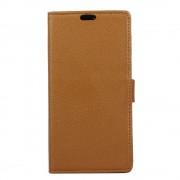 Flip cover med lommer brun Moto G5S plus Mobil tilbehør