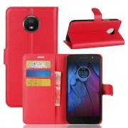 Vilo flip cover rød Moto G5S plus Mobil tilbehør