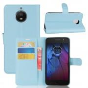 Vilo flip cover blå Moto G5S plus Mobil tilbehør
