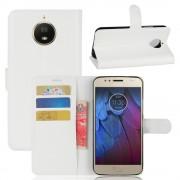 Motorola Moto G5S flip cover med lommer hvid Mobilcovers
