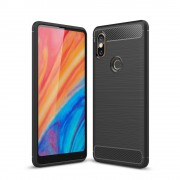 C-style armor cover sort Xiaomi Mi Mix 2S Mobil tilbehør