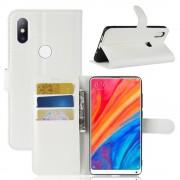hvid Igo flip cover Xiaomi Mi Mix 2S Mobil tilbehør