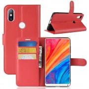 Igo flip cover rød Xiaomi Mi Mix 2S Mobil tilbehør
