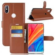 Igo flip cover brun Xiaomi Mi Mix 2S Mobil tilbehør