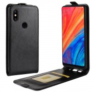 Xiaomi Mi Mix 2S vertikal flip cover sort Mobil tilbehør