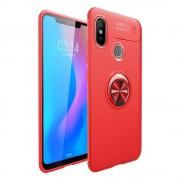 Cover med ring holder rød Xiaomi Mi 8 Mobil tilbehør