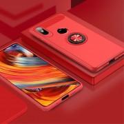 Xiaomi Mi Mix 2S cover med ring holder rød Mobil tilbehør