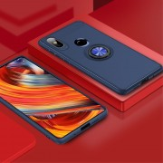 Xiaomi Mi Mix 2S cover med ring holder blå Mobil tilbehør
