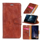 Elegant læder cover brun Xiaomi Mi Mix 2S Mobil tilbehør