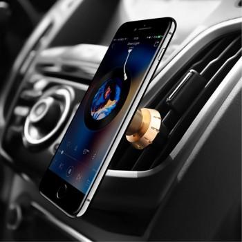Joyroom magnetisk mobil holder guld Mobil tilbehør