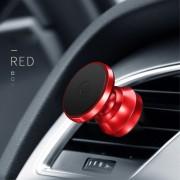 Bilholder magnetisk aluminuim rød Mobiltilbehør