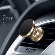 Bilholder magnetisk aluminuim guld Mobiltilbehør