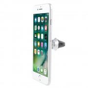 Universal mobil holder med kraftig magnet sølv Mobiltelefon tilbehør