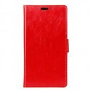 MOTOROLA MOTO G4 cover etui med lommer rød, Leveso Mobil tilbehør