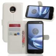 Motorola Moto Z cover pung hvid Mobiltelefon tilbehør