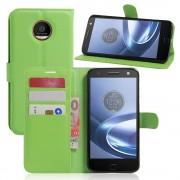 Motorola Moto Z cover pung grøn Mobiltelefon tilbehør