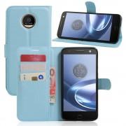 Motorola Moto Z cover pung blå Mobiltelefon tilbehør