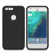 Til Google Pixel cover Armor all sort Mobiltelefon tilbehør