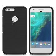 Til Google Pixel cover Armor all sort Mobiltelefon tilbehør