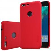 Til Google Pixel rød cover med skærm beskyttelse Mobiltelefon tilbehør