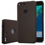 Google Pixel cover med skærm beskyttelse grå Leveso.dk Mobiltelefon tilbehør