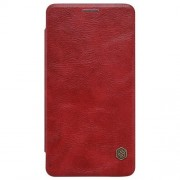 MICROSOFT LUMIA 950 læder cover i business stil, rød Mobiltelefon tilbehør