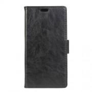 MICROSOFT LUMIA 950 XL læder cover med kort lommer, sort Mobiltelefon tilbehør