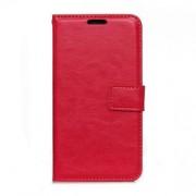 MICROSOFT LUMIA 650 læder cover med kort lommer, rød Mobiltelefon tilbehør