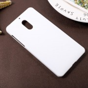 Nokia 6 hard cover rub hvid Mobilcovers