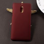 Nokia 6 rød hard cover rub Mobilcovers