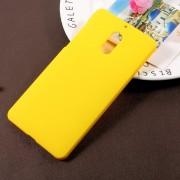Nokia 6 hard cover gul rub Mobilcovers