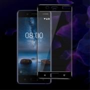 Nokia 8 hel dækkende panserglas Mobil tilbehør