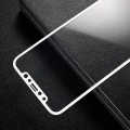 Hel dækkende panserglas Iphone X hvid