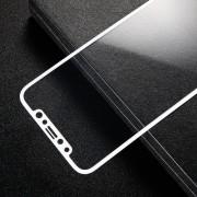 Hel dækkende panserglas hvid Iphone X Mobil tilbehør