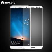 Huawei Mate 10 lite hel dækkende panserglas hvid Mobil tilbehør