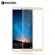 Huawei Mate 10 lite hel dækkende panserglas guld Mobil tilbehør