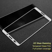 Huawei Mate 10 pro fuld dækkende panserglas hvid Mobil tilbehør