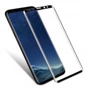 Heldækkende panserglas sort Galaxy S9 Mobil tilbehør